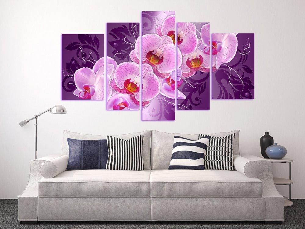 Панно в фиолетовом цвете