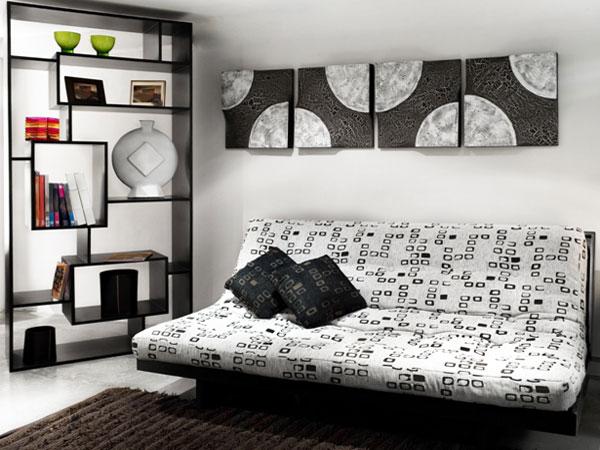 Абстрактные картины для небольшой комнаты