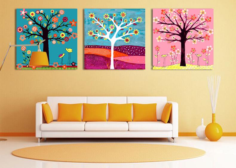 Яркие картинки для яркой комнаты